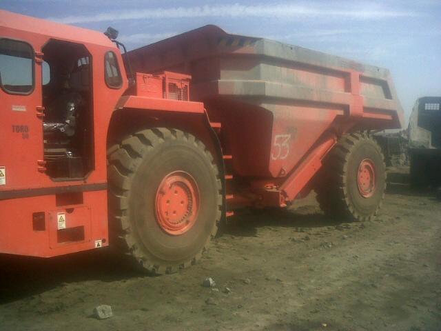 Mining Dumper Test